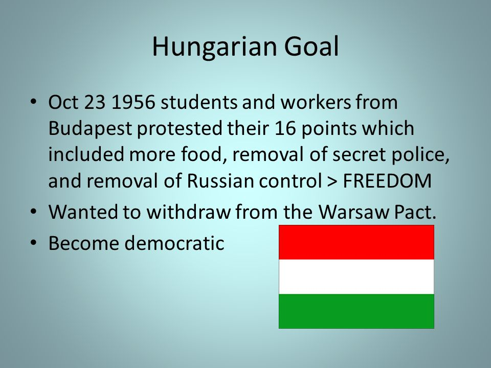 Hungarian Goal
