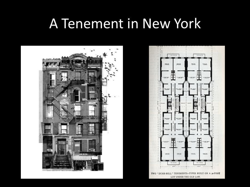 A Tenement in New York