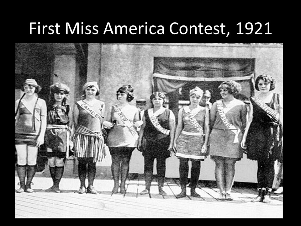 First Miss America Contest, 1921