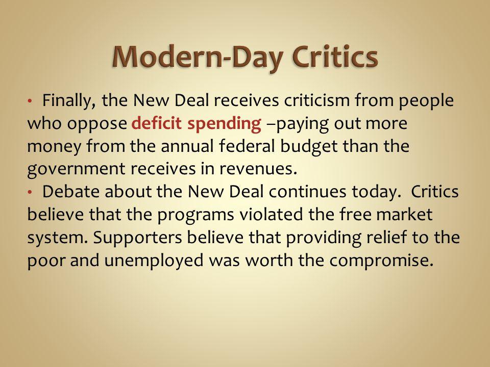 Modern-Day Critics