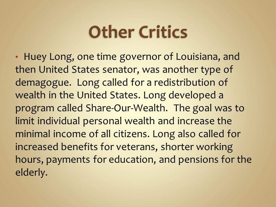 Other Critics