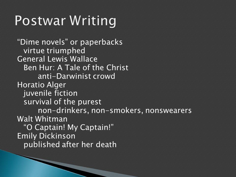 Postwar Writing