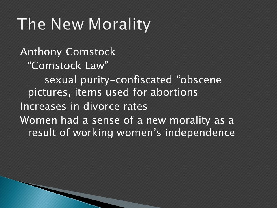 The New Morality