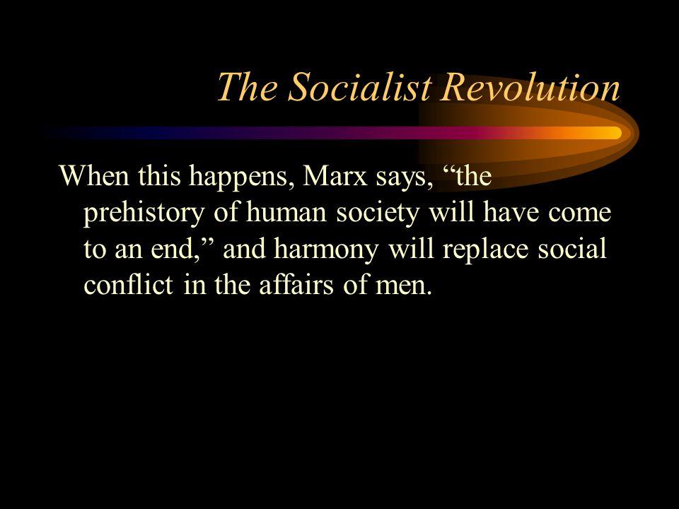 The Socialist Revolution