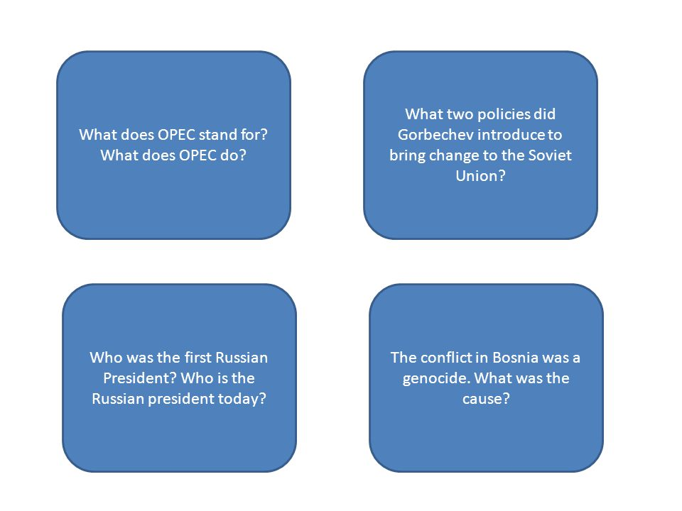 What does OPEC stand for What does OPEC do