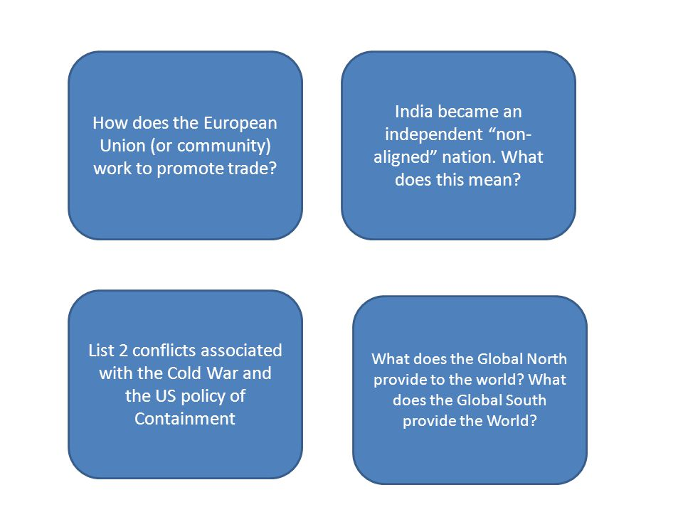 How does the European Union (or community) work to promote trade