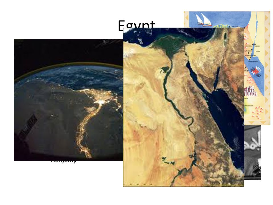 Egypt 99% of the population live on 10% of the land near the Nile