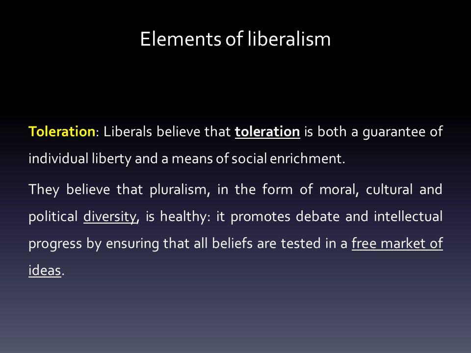 Elements of liberalism