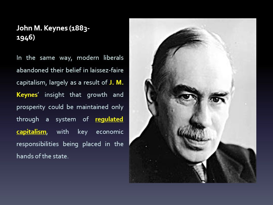 John M. Keynes (1883-1946)