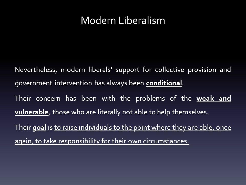 Modern Liberalism