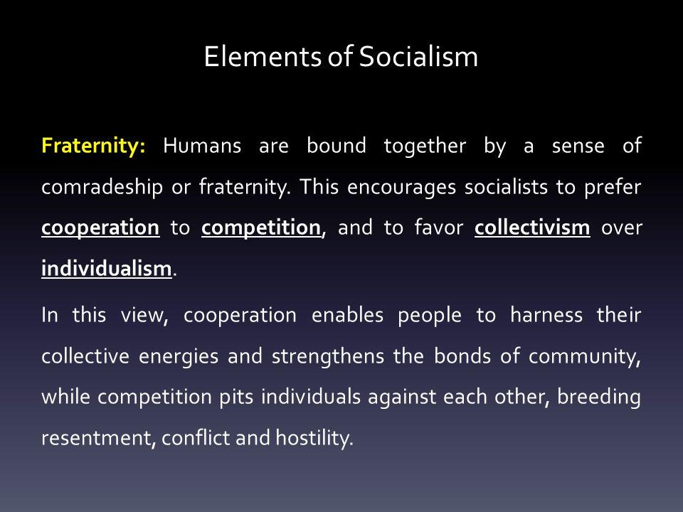 Elements of Socialism