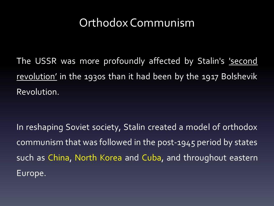 Orthodox Communism