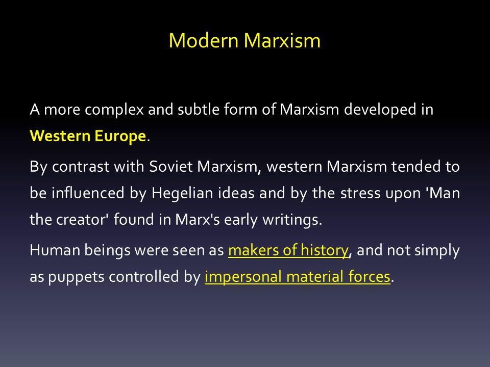 Modern Marxism