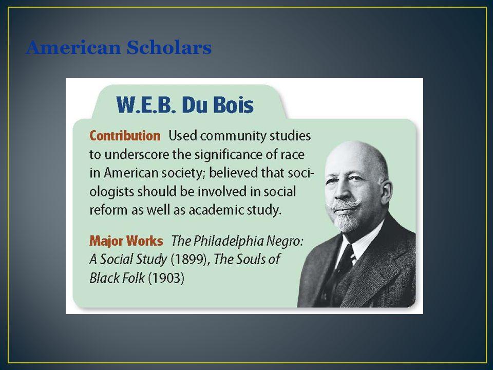 American Scholars