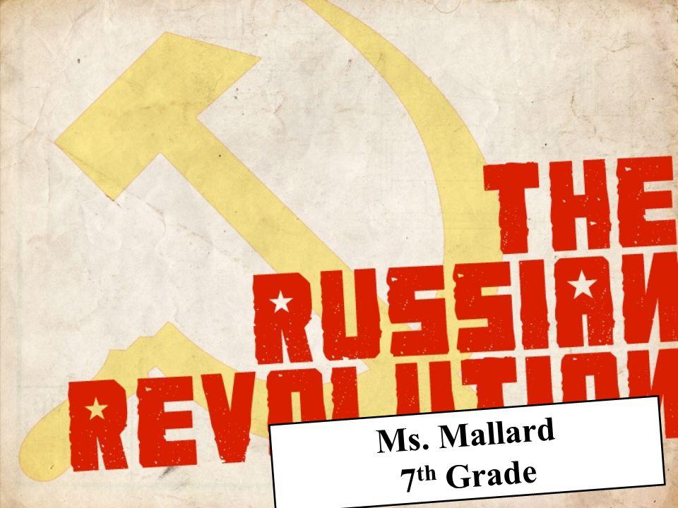 Ms. Mallard 7th Grade