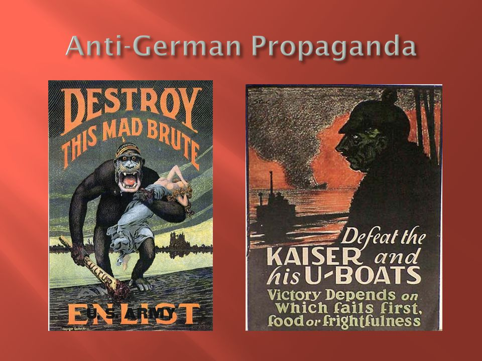 Anti-German Propaganda