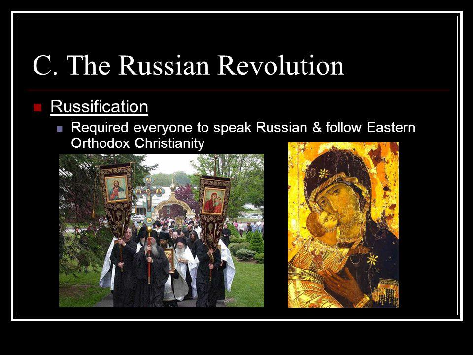 C. The Russian Revolution