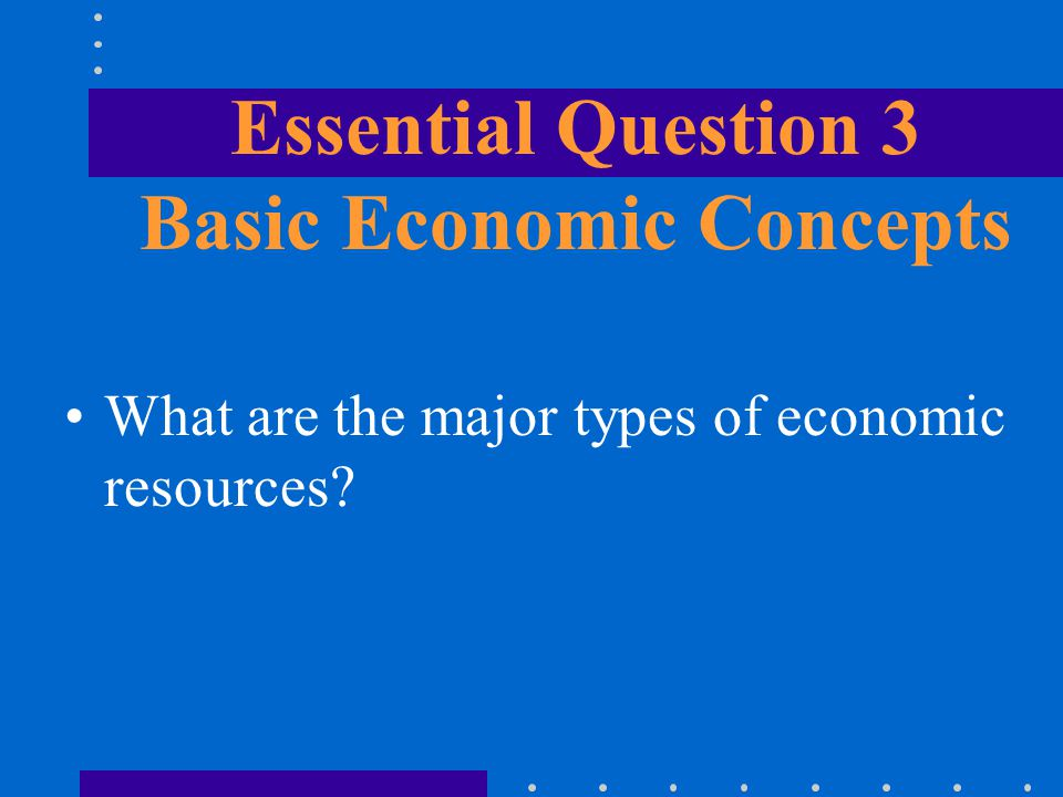 Introduction to Economics: Basic Concepts and Principles