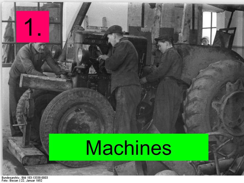 1. Machines