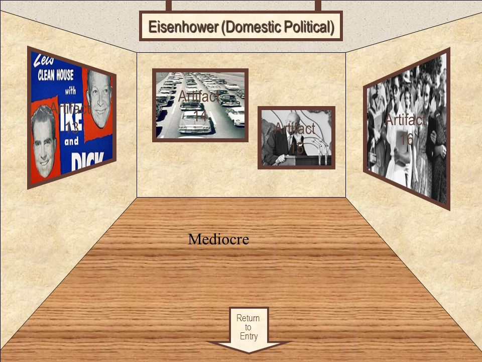 Eisenhower (Domestic Political)