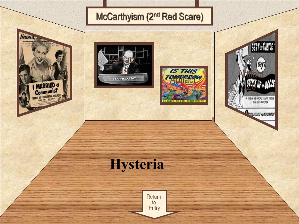 McCarthyism (2nd Red Scare)