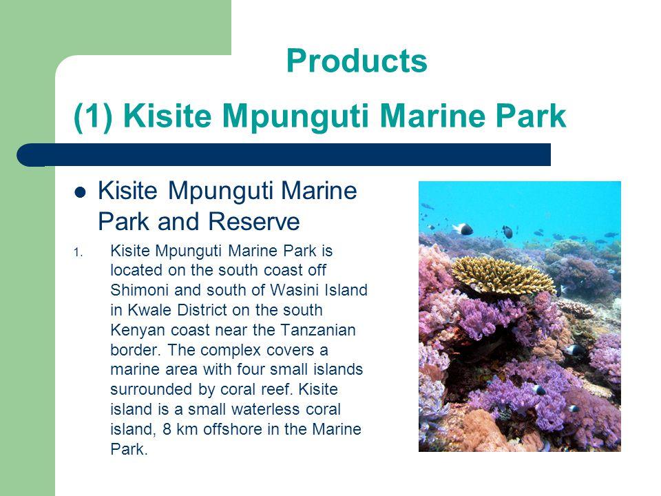 (1) Kisite Mpunguti Marine Park