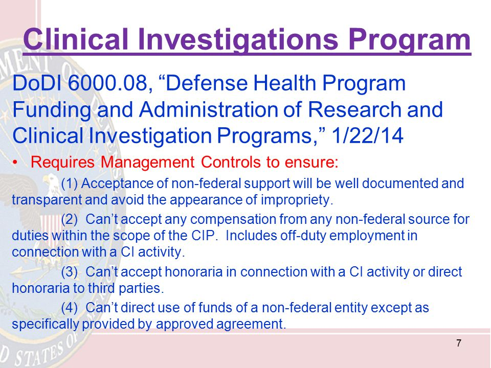 Clinical Investigations Program