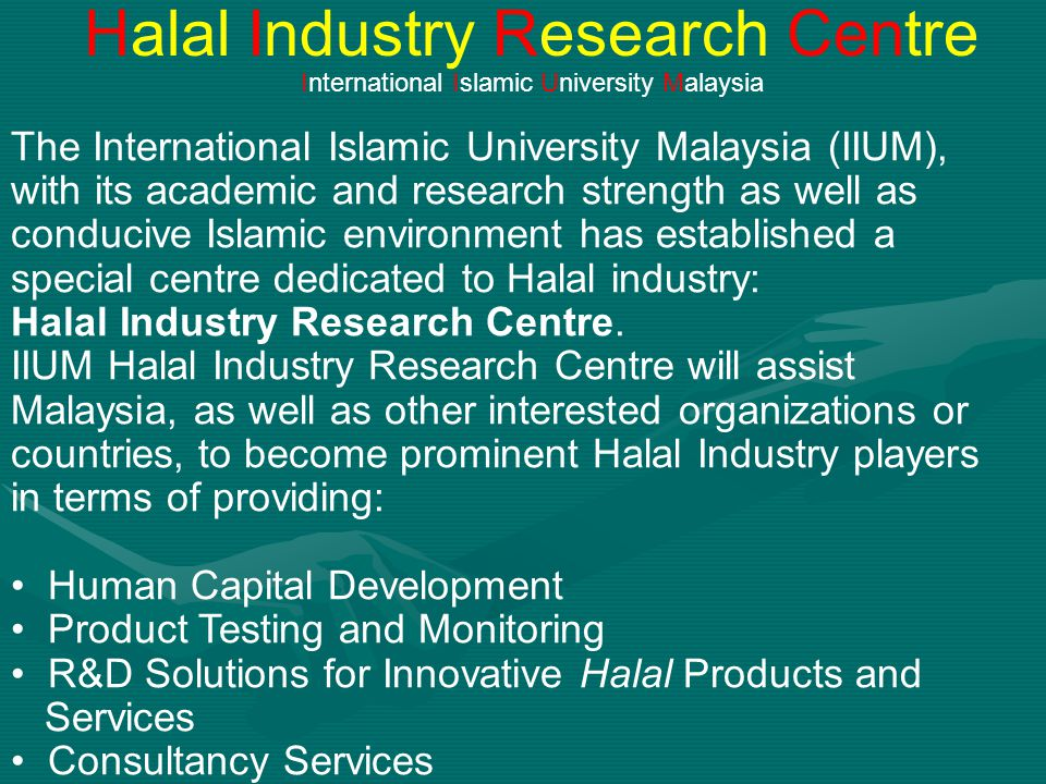 Halal Industry Research Centre