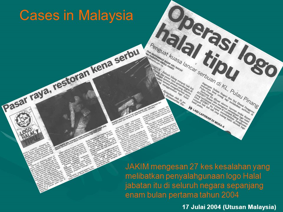 Cases in Malaysia