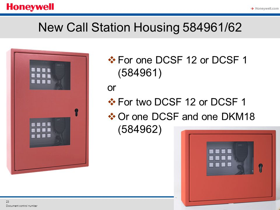 New Call Station Housing 584961/62