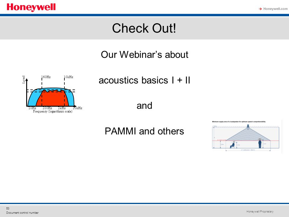 Check Out! Our Webinar's about acoustics basics I + II and