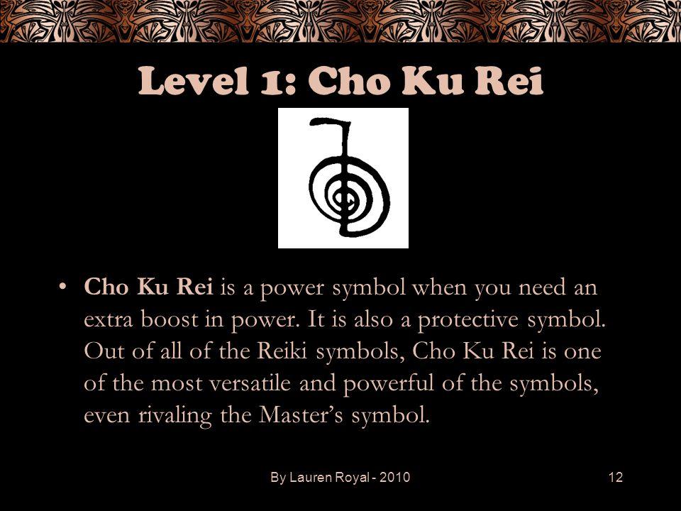 Level 1: Cho Ku Rei