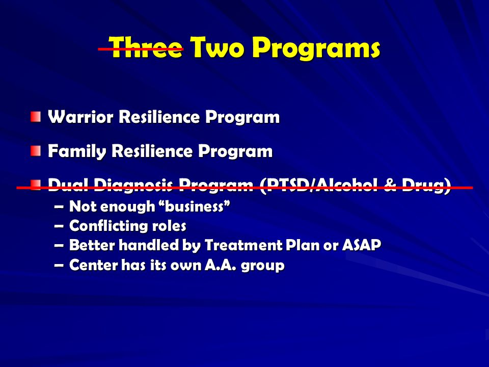 Three Two Programs Warrior Resilience Program