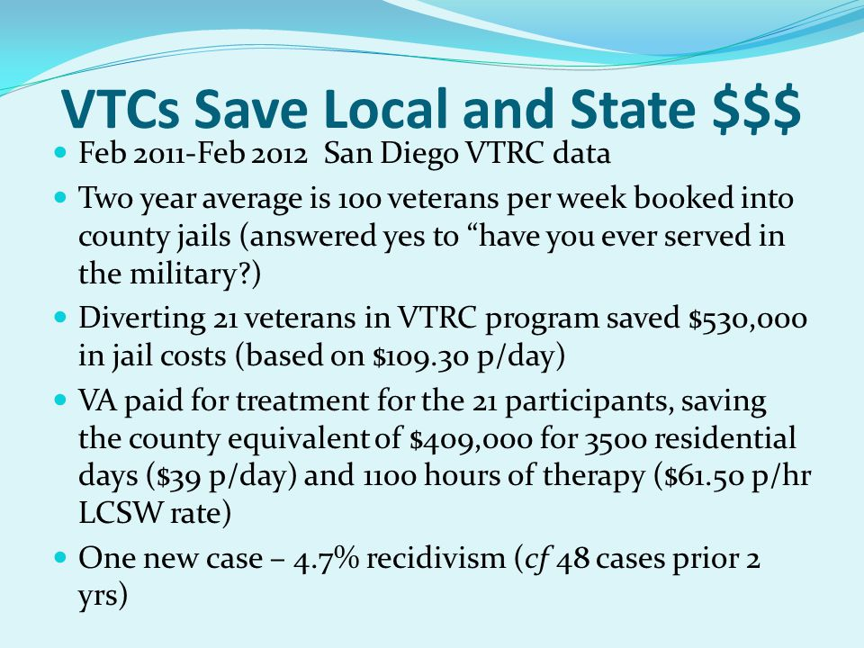 VTCs Save Local and State $$$
