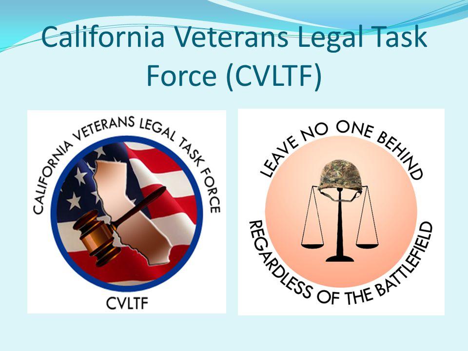 California Veterans Legal Task Force (CVLTF)