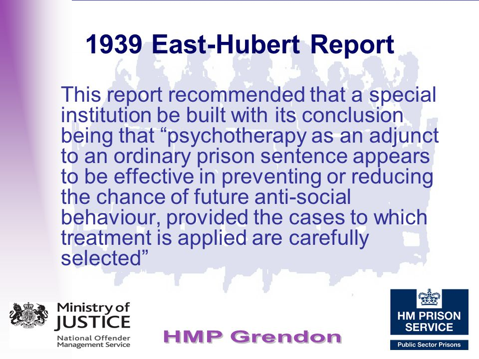 1939 East-Hubert Report