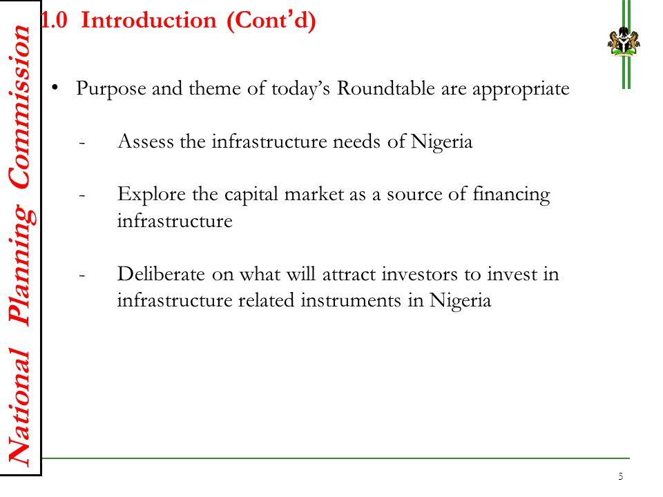 1.0 Introduction (Cont'd)