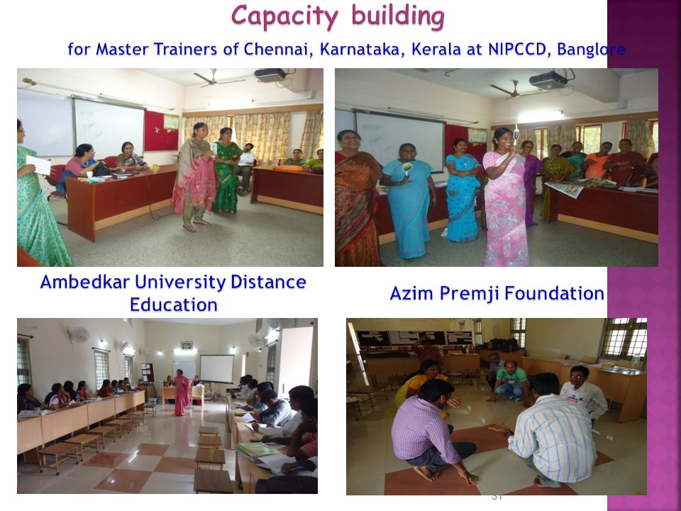 Capacity building Ambedkar University Distance Education