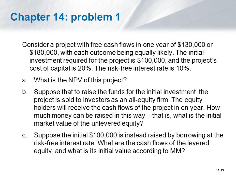 Chapter 14: problem 1