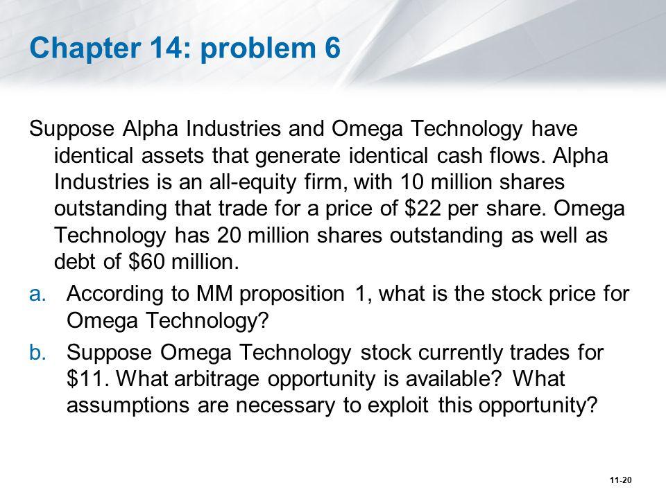 Chapter 14: problem 6