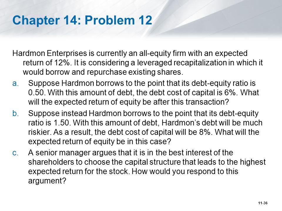 Chapter 14: Problem 12