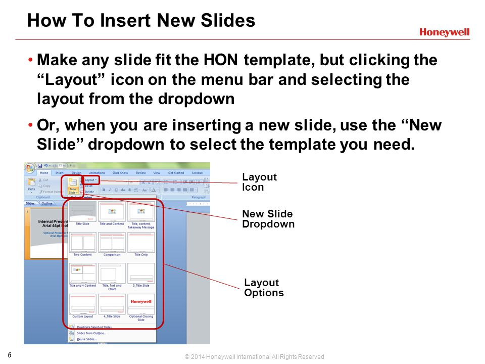 How To Insert New Slides