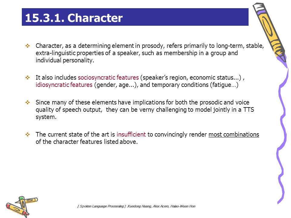 15.3.1. Character