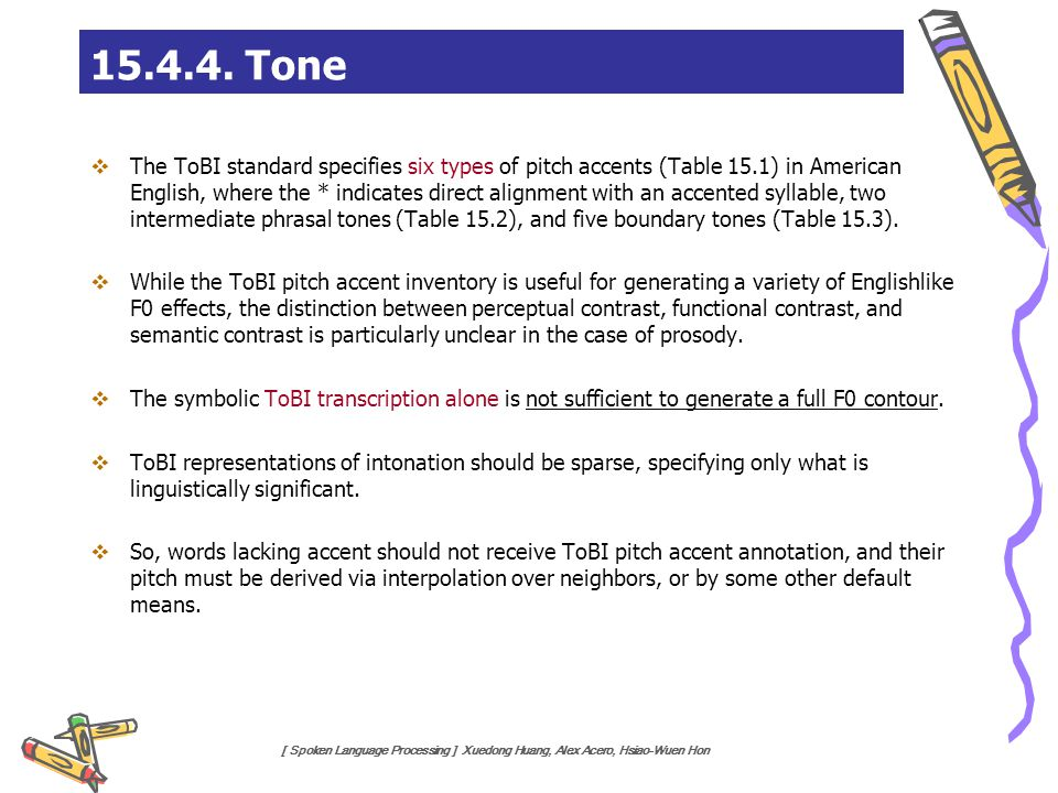 15.4.4. Tone