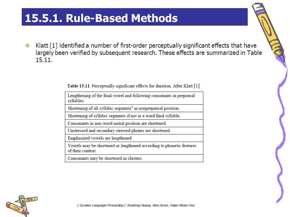 15.5.1. Rule-Based Methods