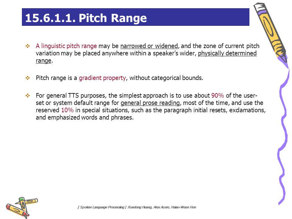 15.6.1.1. Pitch Range
