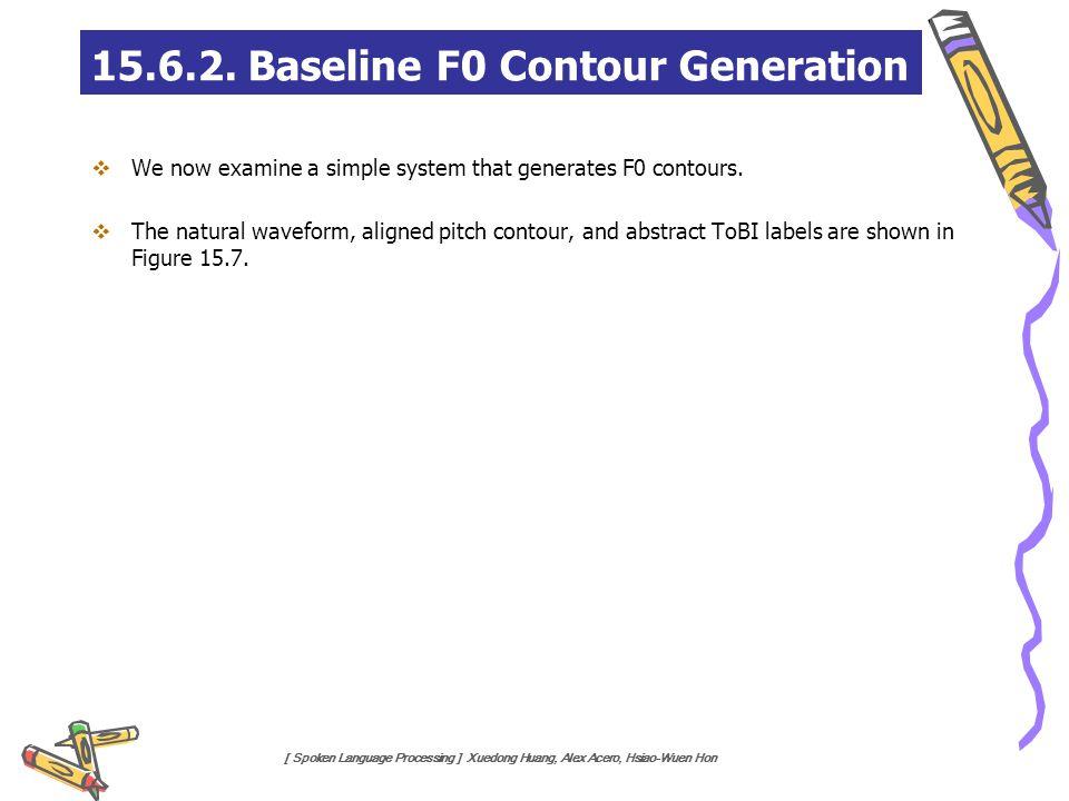 15.6.2. Baseline F0 Contour Generation