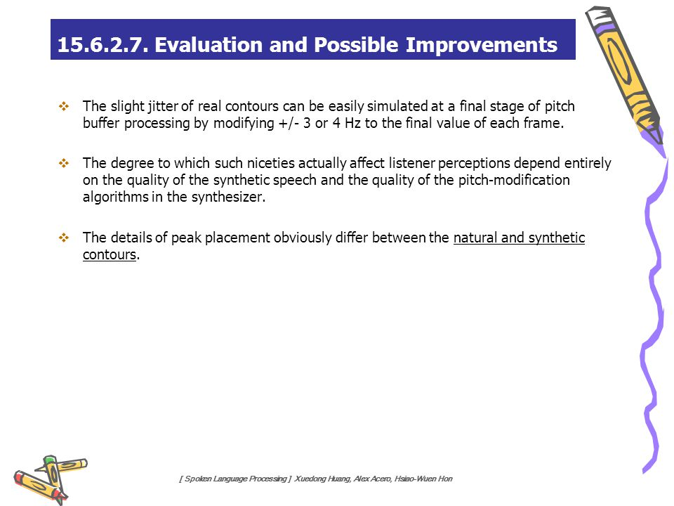 15.6.2.7. Evaluation and Possible Improvements