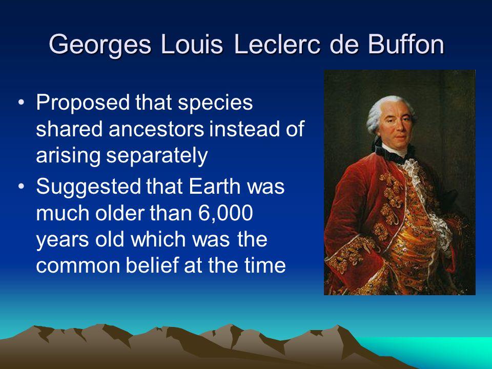 Georges Louis Leclerc de Buffon