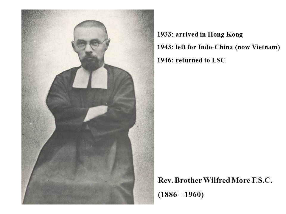 Rev. Brother Wilfred More F.S.C. (1886 – 1960)